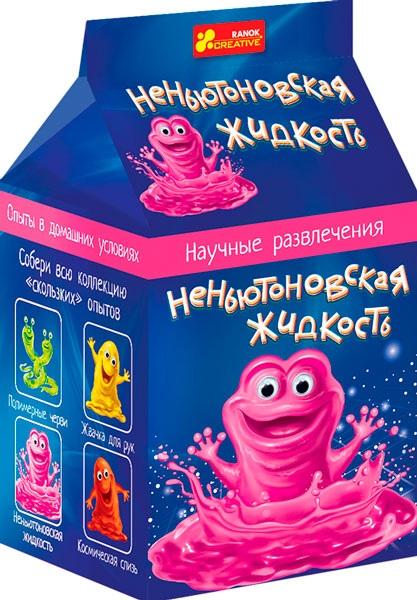 Купить 0374 Наукові розваги Неньютонівська рідина (редизайн) 12132020Р, Ранок Креатив
