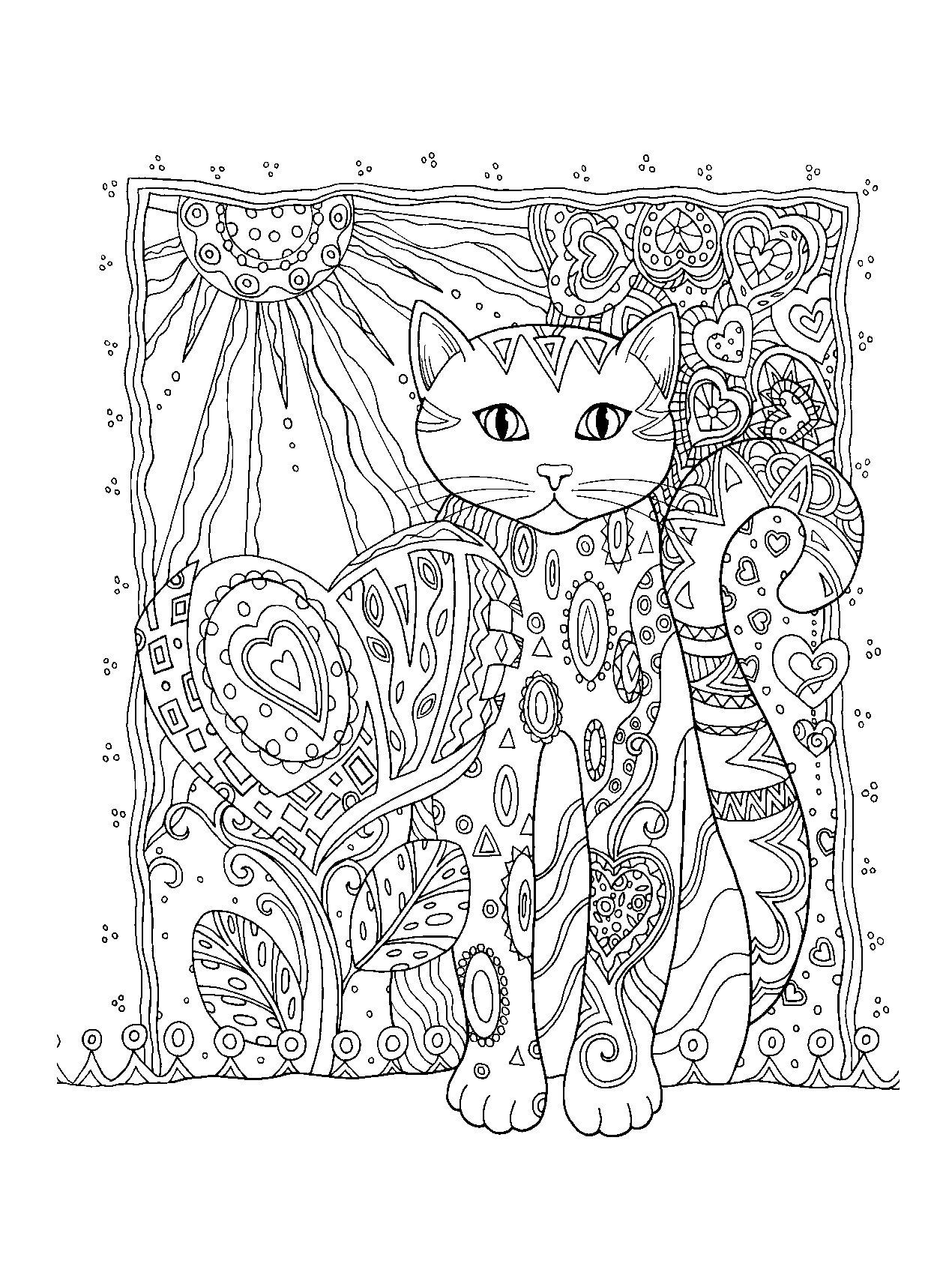 Купить книгу «Котики. Раскраски, поднимающие настроение ...