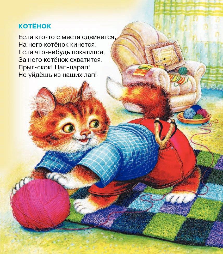 в берестов котенок картинка