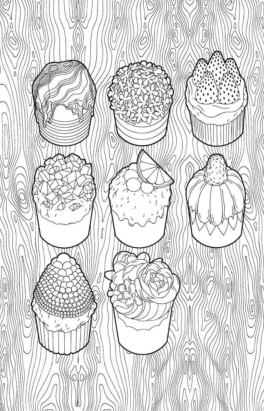 купить книгу сладости мини раскраска антистресс для