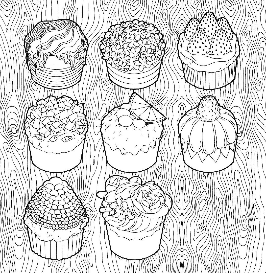 купити книгу сладости летняя серия раскраска антистресс