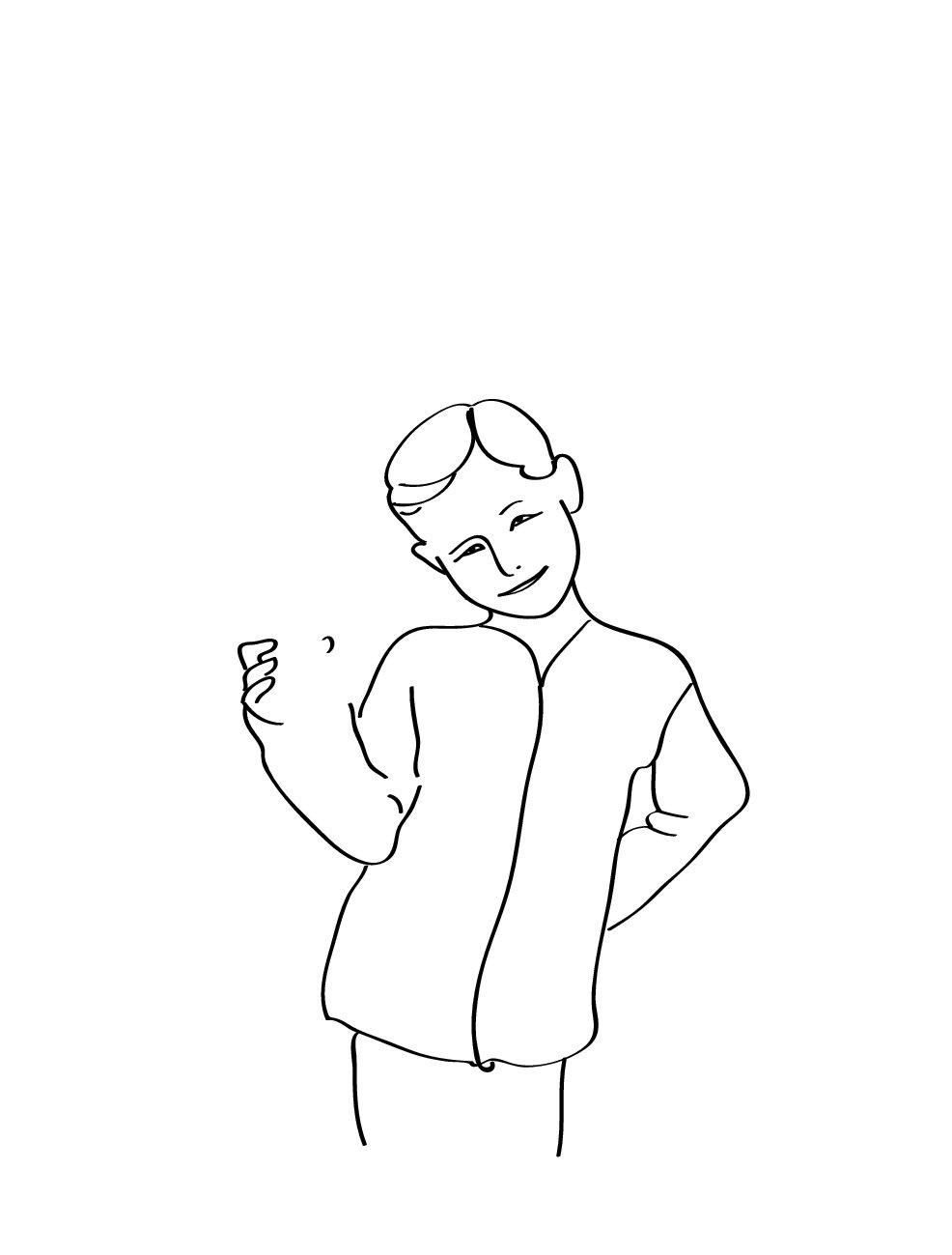 Дорисовать рисунок смешной, врач