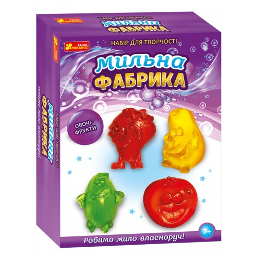 Купить Мильна фабрика Овочі - фрукти , Ранок Креатив