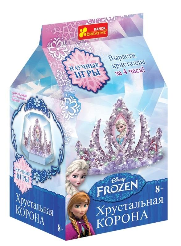Купить 8091 Корона в кристалах Фрозен 12162031Р, Ранок Креатив