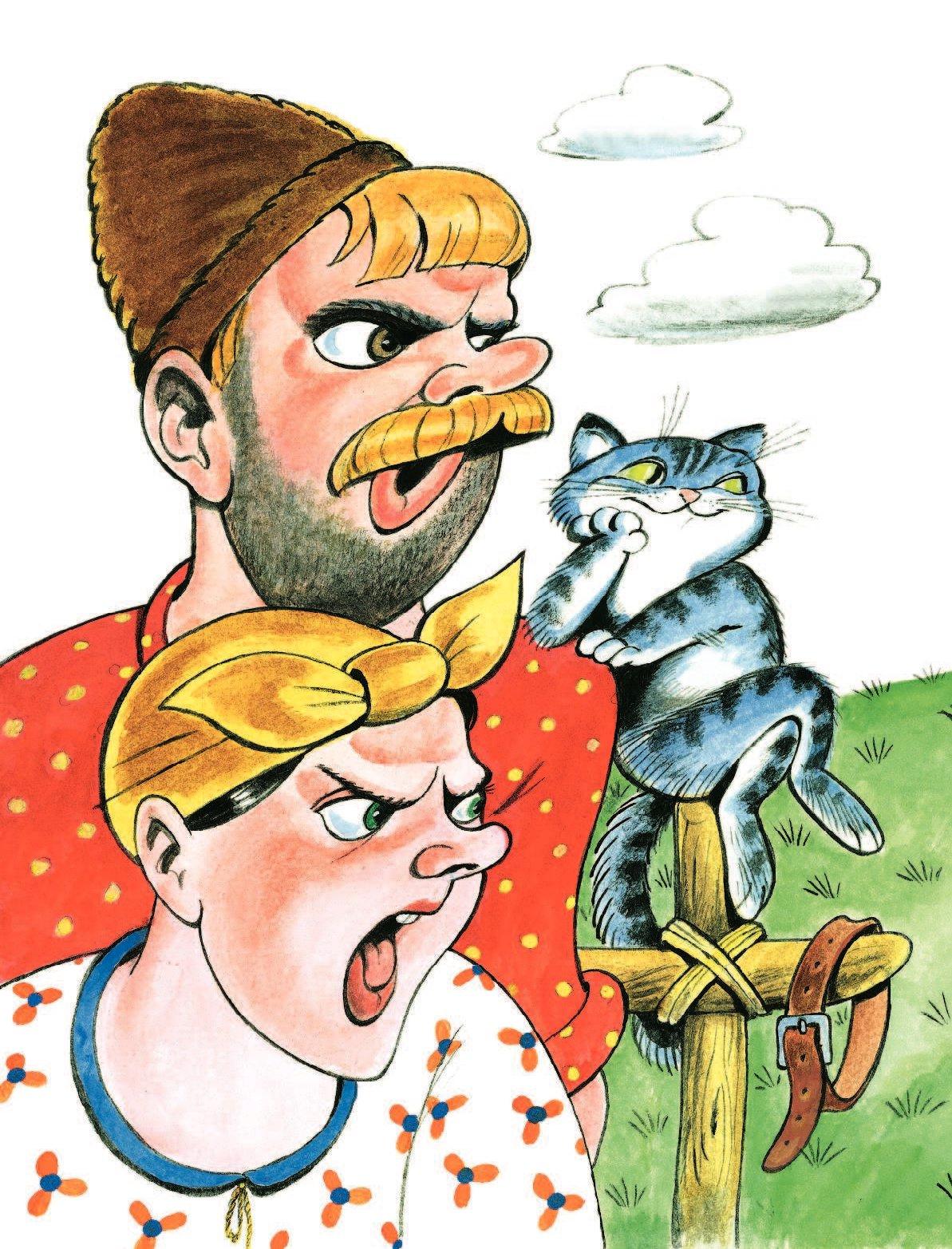 прикольные картинки из русских сказок вечерю