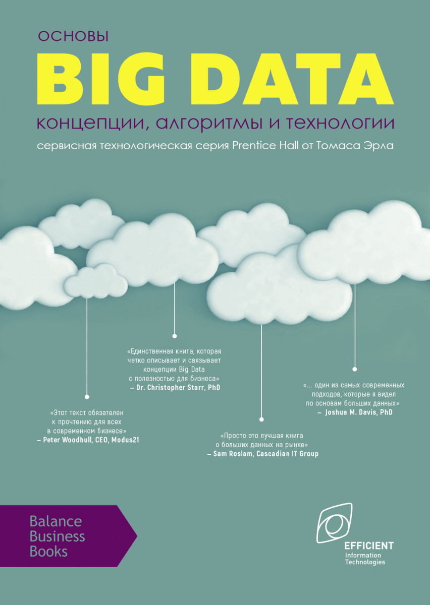 Купить Основы Big Data: концепции, алгоритмы и технологии, Balance Business Books