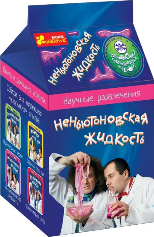 Купить 0374 Наукові розваги Неньютонівська рідина 12132013, Ранок Креатив