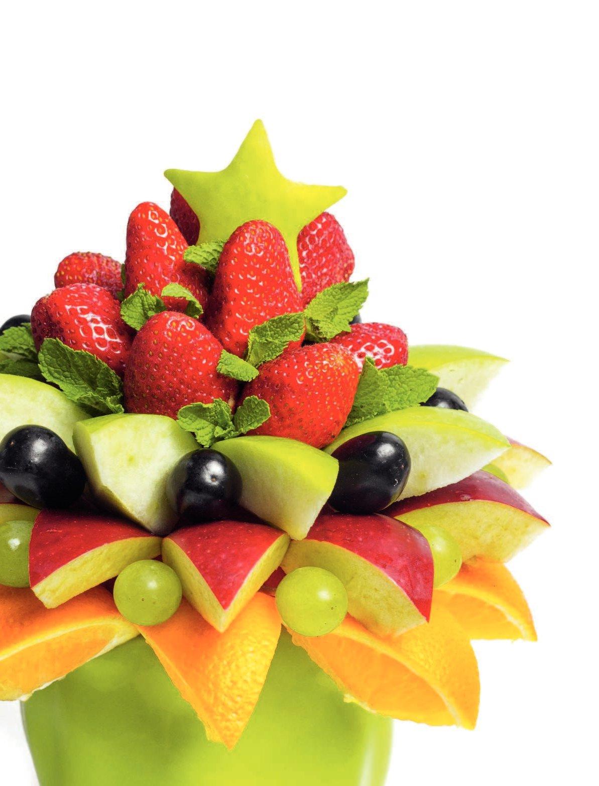 оформление блюд из фруктов фото картинки взять бонистику как