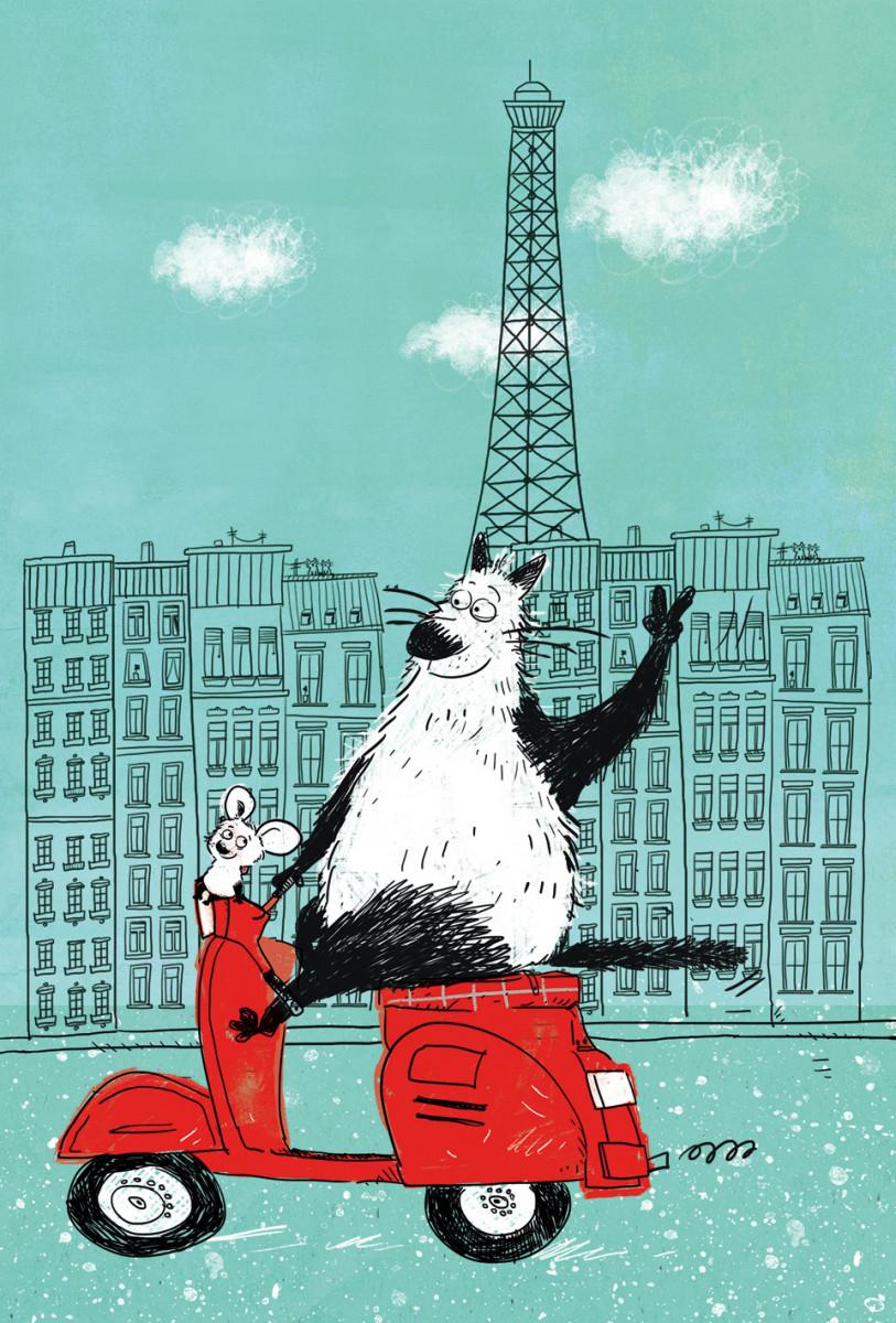 Купить Блокнот mini. Блокнот, поднимающий настроение (в Париже), Эксмо