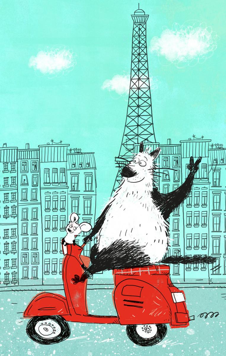 Купить Блокнот, поднимающий настроение (в Париже), Эксмо
