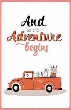 Книга And so the adventure begins (А5)