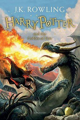 Книга Harry Potter and the Goblet of Fire